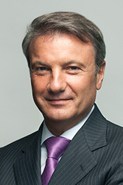 Herman Gref, CEO, Chairman of the Executive Board of Sberbank